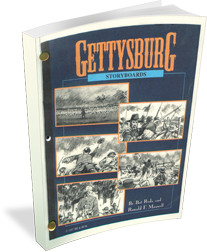 Gettysburg: Storyboards from the Feature Film